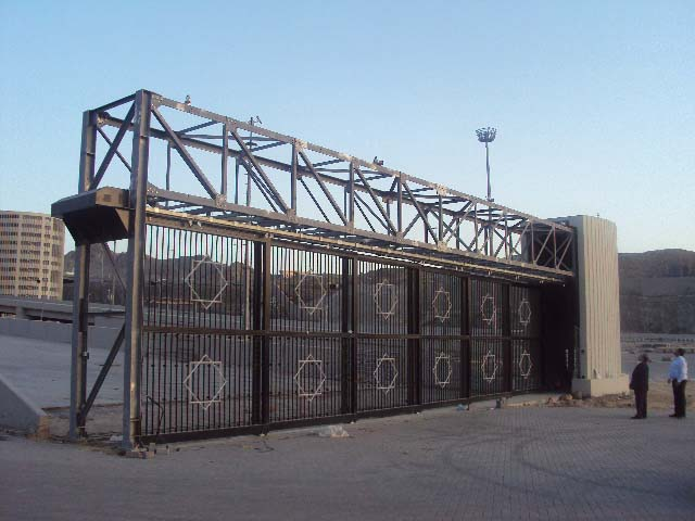 Electronic Sliding Gates