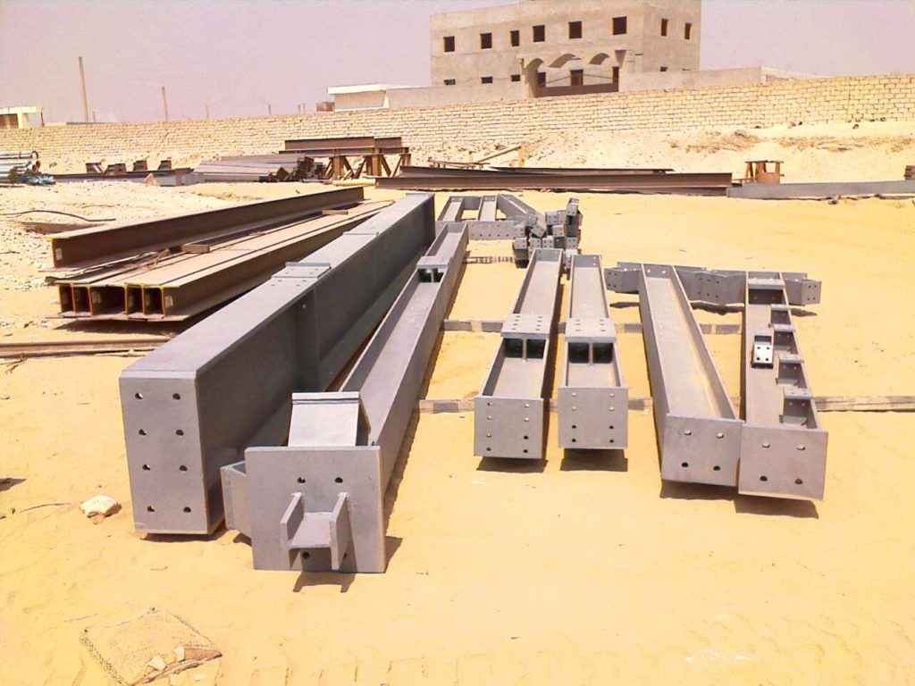 Structural Steel Supports